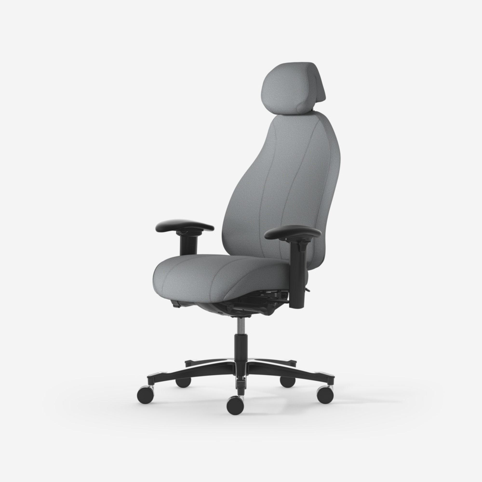 Malmstolen 7000 XL Wide kontorsstol ergonomisk stol