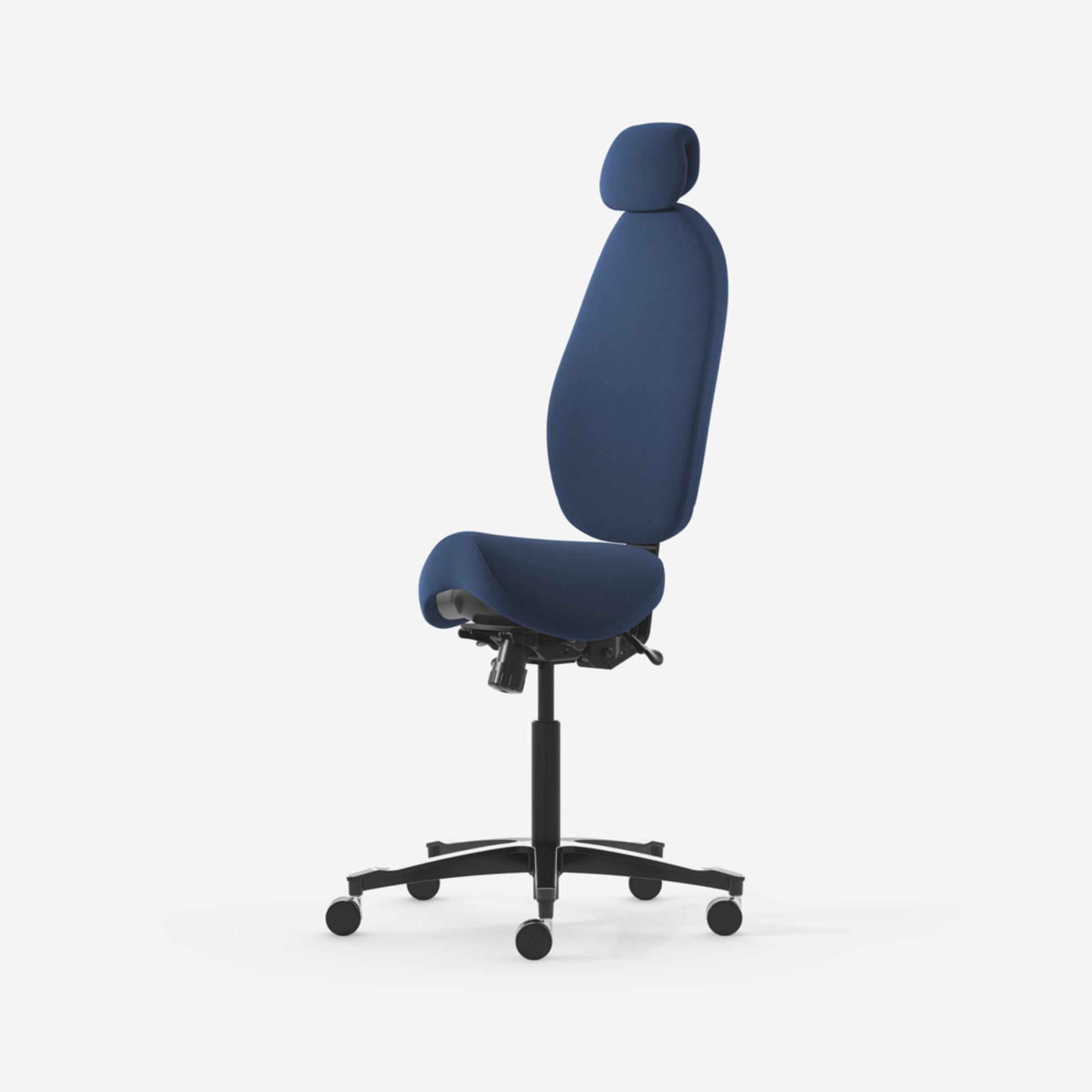 Malmstolen H5 kontorsstol sadelstol ergonomiks stol sitt&ståstöd stol